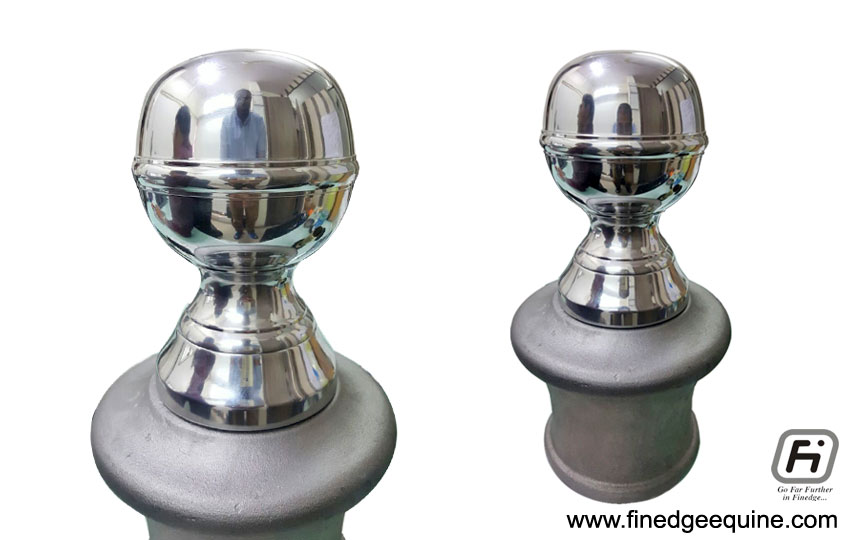 Equestrian Balls Finials and Caps manufacturers exporters in India