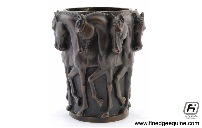 Equestrian decorative vase manufacturers exporters in India